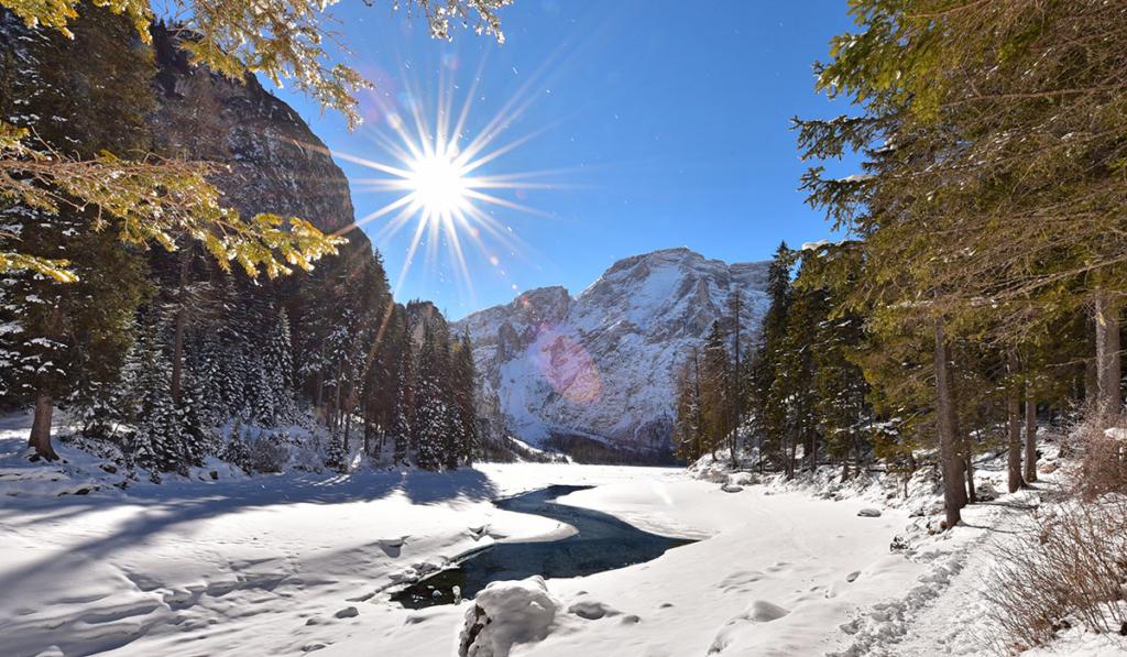 vacanza invernale-lago di braies